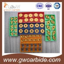 CNC карбида режущих поворачивая Филируя вставки