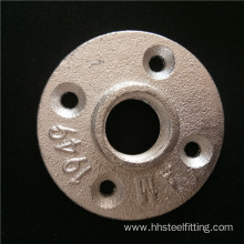 1/2 galvanized iron 4 hole floor flange