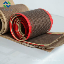Weiwei 10*10 teflon mesh conveyor belt high temperature