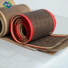 Teflon malha fibergalss tecido e cinto 4 * 4 mm cor marrom da China