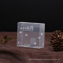 diagonal plastic PVC clear box for gift