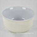 Kitchen fancy custom cheap round noodles ceramic bowl soup