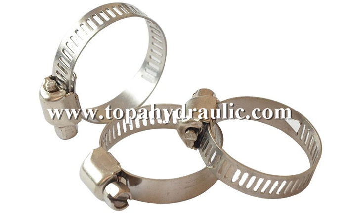 Stainless steel hydraulic pipe american hose clamp china
