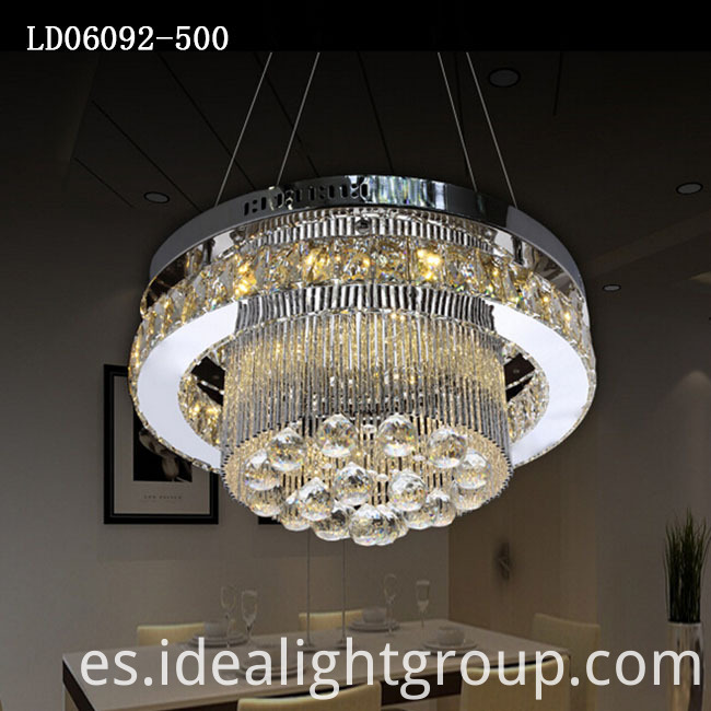 hanging chandeliers light