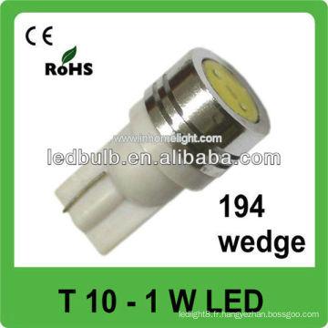 24V 1W lumières led haute puissance pour véhicules