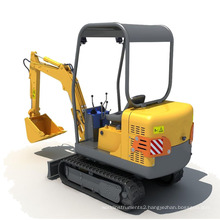 YG1.5-8 mini crawler excavators,Mini Digger Small Excavator