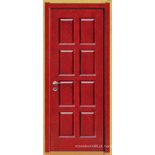 Porta de madeira maciça pura