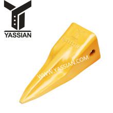 dientes del cubo del excavador resistente cubo adaptador