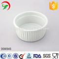 Plato de cerámica redondo al por mayor directo de la fábrica, plato de relevación