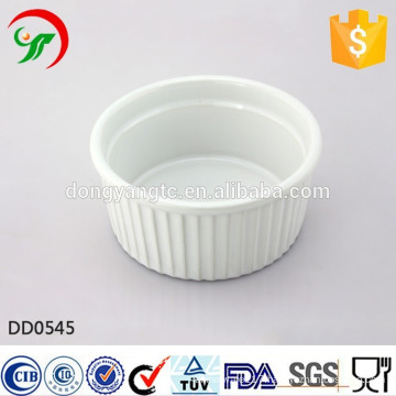 Factory direct wholesale round ceramic dish,relief dish