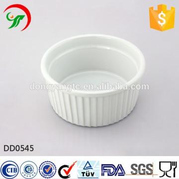 Фабрика прямые оптовые круглая керамическая тарелка,блюдо рельеф