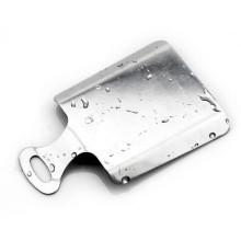 Placa de mano multifunción de acero inoxidable con base de jengibre y ajo.