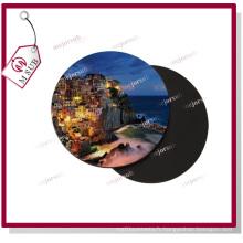 Sublimation Poly tissu caoutchouc Coaster avec Logo
