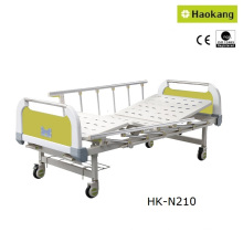 Customizable Manual Two-Crank Medical Bed for Hospital (HK-N210)