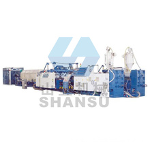 PVC PP HDPE Double Wall Corrugated Pipe Production Line