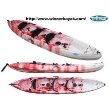 Trio de plástico grande Sot Fishing Kayak