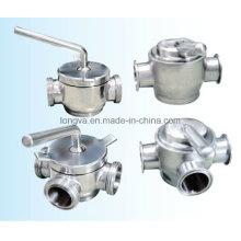 Stainless Steel Sanitary Plug Valve