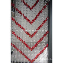 Diamond crystal beaded curtain