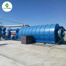 Hottest and Newest Design Waste Tire Pyrolysis to Crude Oil Plant With CE and ISO