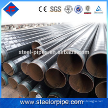 Latest products sch40 black erw pipe