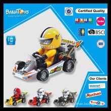 Pequenos carros pequenos do karting do brinquedo do miúdo da promoção venda