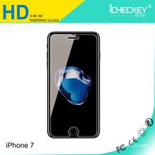 El protector de cristal moderado HD de la pantalla de 0.33mm, uso del teléfono móvil moderó el vidrio para el iPhone 7