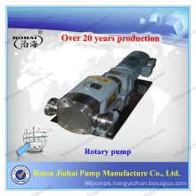 Sanitary Lobe Pump for Condiment, Beer, Juice, Dairy