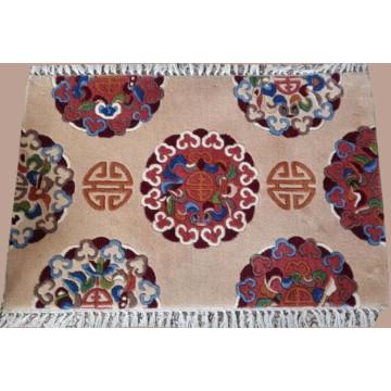 Mais Populares Lã Handmade Tapetes Orientais Hdm003