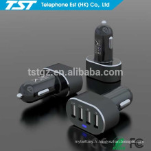 Adaptateur portable portable 4USB pour chargeur de voiture pour iPhone