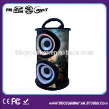 HIFI Mini Wooden Speaker MP3 Player Amplifier