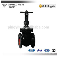 gost cast iron parallel-double-disc manual rising stem gate valve popular goods for russia