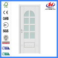 *JHK-G27 Double Tempered Glass Door Arch Wood Glass Door Glass Panel Door Lock