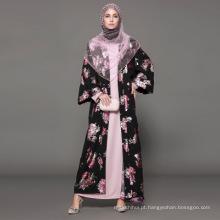 Oem Vestuário Islâmico Moda Muçulmano Islâmico novo design Mulher designer Abaya