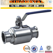 3A 2 PC Ss304 Stainless Steel Sanitary Valves
