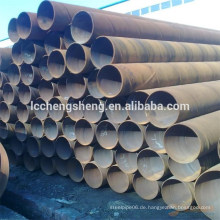 Spiral Stahlrohr, SSAW Stahl geschweißt Rohr Fabrik Preis