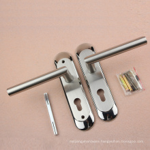 Hot Sale SS Door Handle with Square Plate