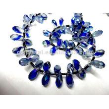 Perles de cristal Teaedrop 2016