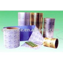 Folha de alumínio para embalagem de medicamentos