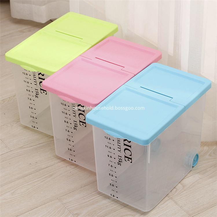 Plastic Rice Container
