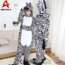 Super macio flanela fleece adulto onesie footed animal roupão com capuz