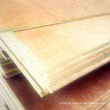 5 * 1220 * 2440mm Pappel Kern Sperrholz Bingtangor Gesicht / Rücken