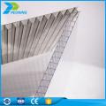 Feuille de toiture en plastique dur isolée en lexan synthétique sur mesure