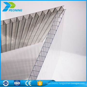 Custom made synthetic lexan insulated hard plastic roofing sheet