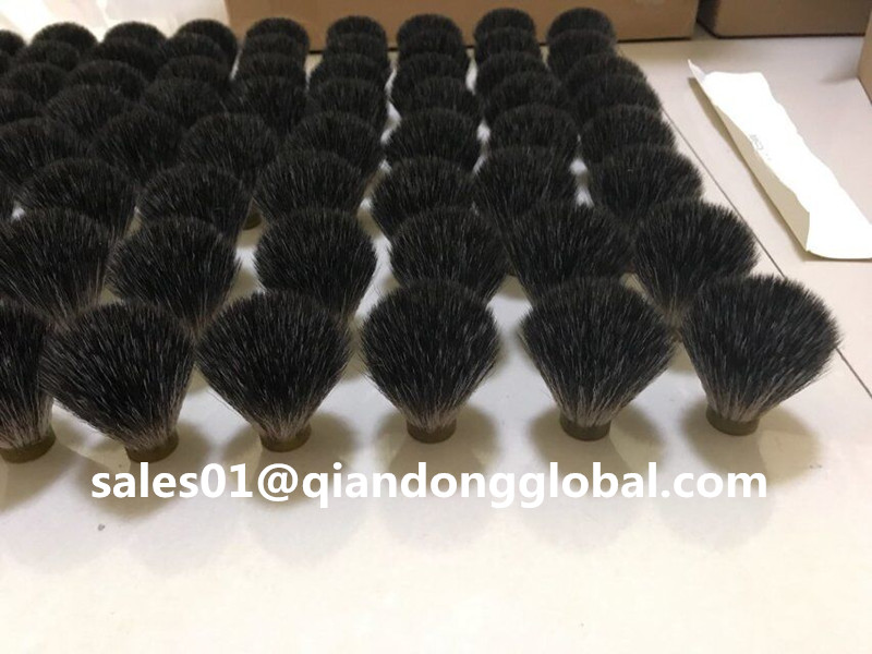 Black Synthetic Hair Knot