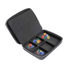 Manufacturer OEM/ODM Game Dice Cases, Protective EVA Parts Organizer Case,Integrated Felt Dice Tray