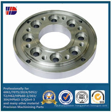 SUS304/SUS 316 Stainless Steel Flange by CNC Machining