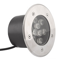 Untertage 9W LED mit RGB-Untertage-Licht