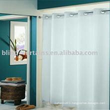 eyelet shower curtain