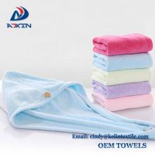 Зашкурить микрофибра сушки волос полотенцем тюрбан полотенца обернуть