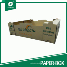 Top Sale High Quality Fruit and Vegetable Corrugated Paper Box